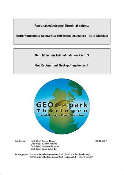Georouten- und Geotop-Pflegekonzept